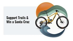 Donate For Your Chance to Win a Santa Cruz Bronson!