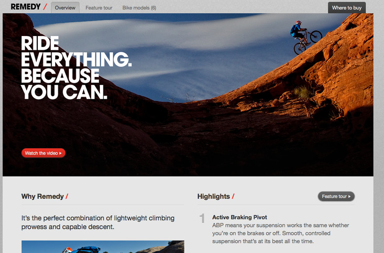 Check out the new Trek Bikes website which is full of videos, photos and all the information you can handle regarding the complete Trek range.