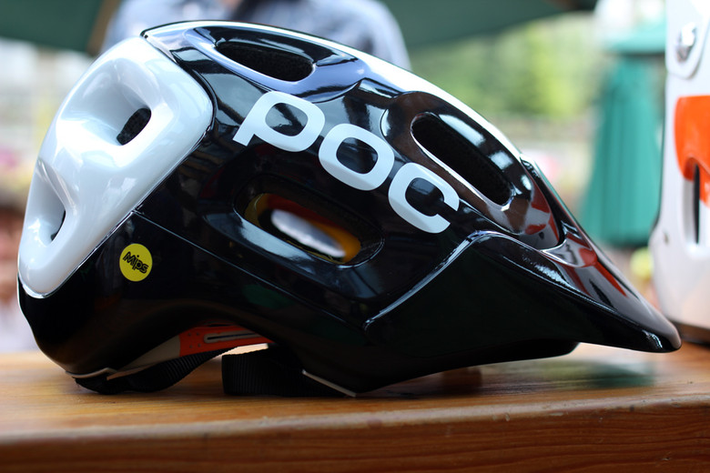 2012 POC Trabec Race Helmet with MIPS Technology