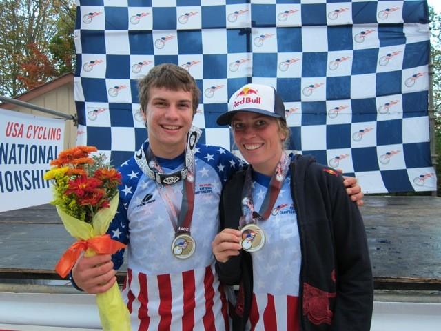 The 2011 USA Dual Slalom National Champs. Congrats you guys! - Photo via Jill Kintner