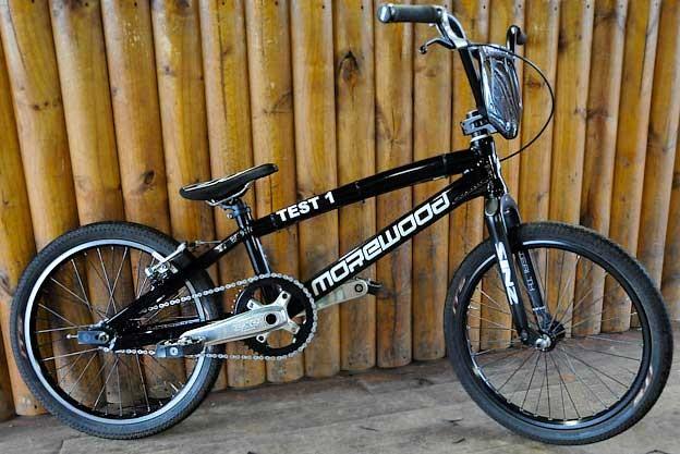 Sifiso Nhlapo's custom Morewood BMX
