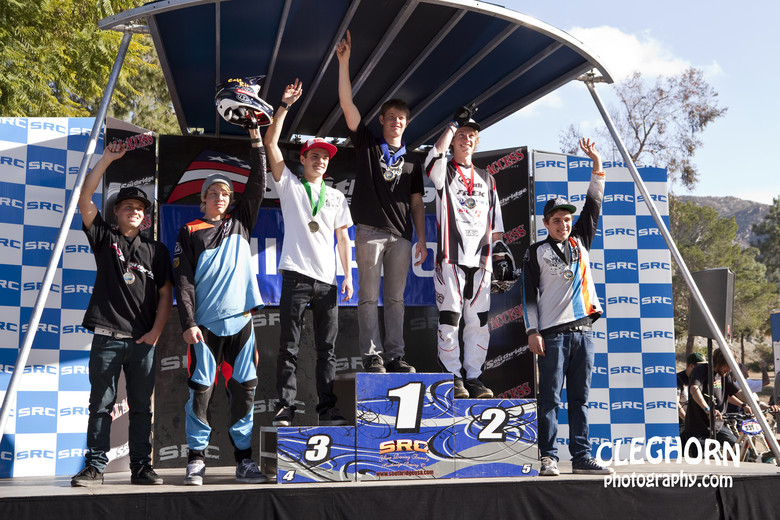 Jr Cat 1 Podium - Photo by Cleghorn Photography