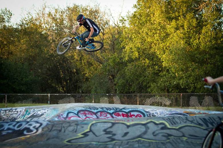 AT flowing through his hometown skatepark in Santa Rosa.