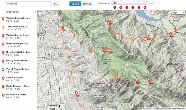 For those unfamiliar with Strava, it's essentially a way to track rides using GPS and then compare times to other users. The user with the fastest time on a particular segment of a ride is crowned King of the Mountain (KOM) for that segment.