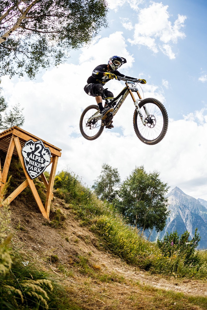 Gee Atherton by Stef Cande