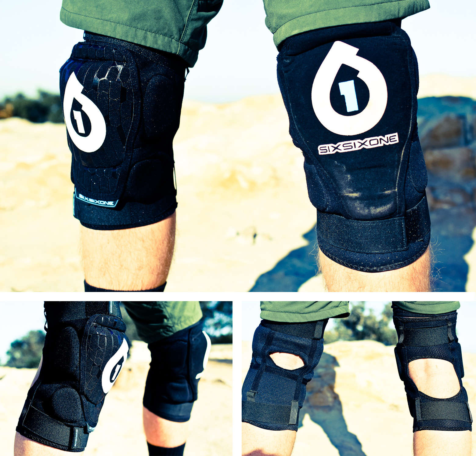 Tested SixSixOne Rage Knee Pads