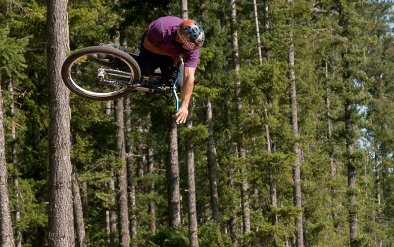 Product Testing the Spike 777 bar and Spike Race Stem in BC, Canada…Bearclaw style!