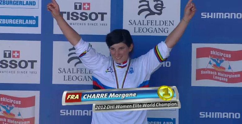 Count on hearing more about the young and talented Morgane Charre in the near future. She's a pinner!