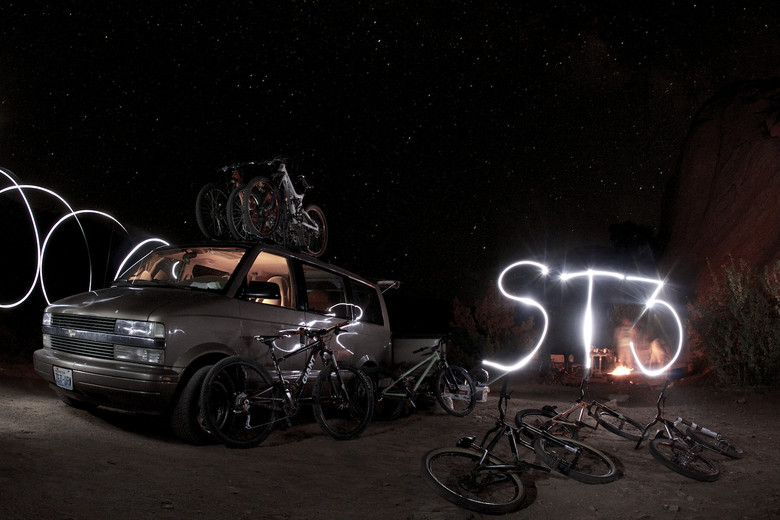 Camping is rad in Moab. ST3™. Yes this took many, many tries.