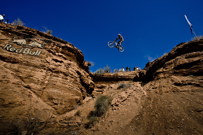 Thomas Vanderham at Rampage.