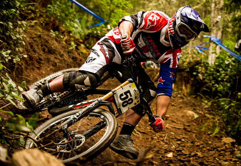 Brook Macdonald at NW Cup Port Angeles 2013 where he'd go on to claim 5th - photo by Matt Delorme