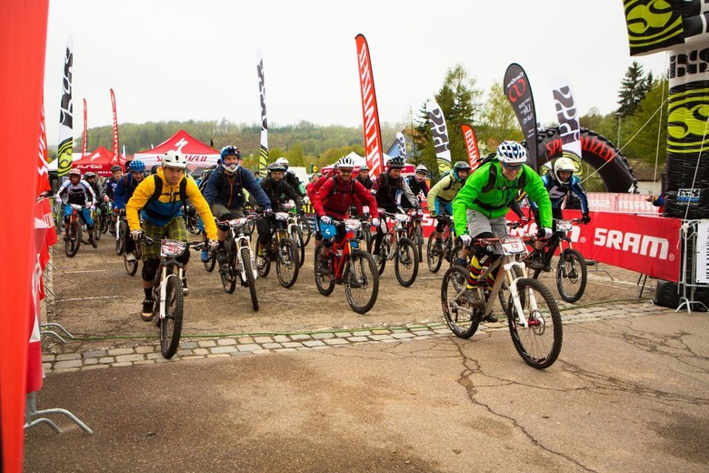 Enduro is all about racing and having fun with your mates - photo by Christophe Bayer