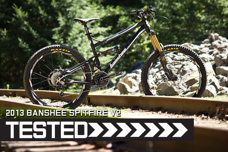 Banshee Spitfire V2 - 2013 Frame - Reviews, Comparisons