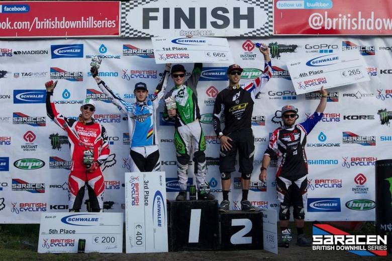 Men's Elite podium