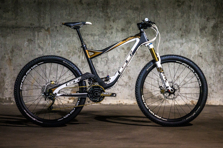 At 130mm of travel, the GT Sensor aims to tackle the trail market and is Hans Rey's go to ride.