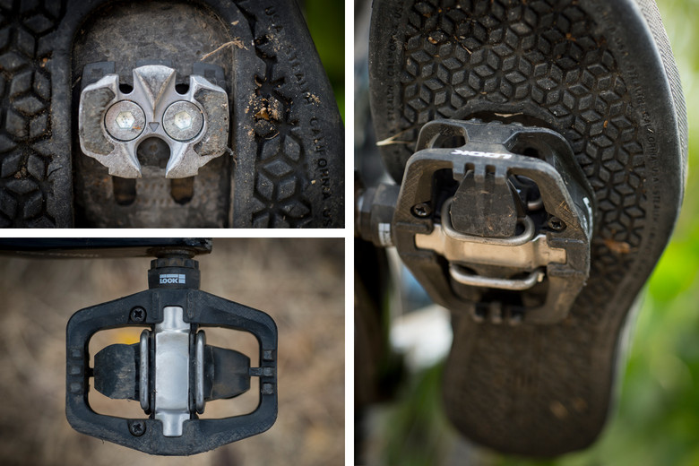 New LOOK S-Track Trail Cage Clipless Enduro Platform Pedals Mountain Bike