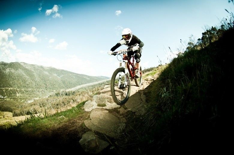Photo courtesy Alpine Gravity - Diversity of trails for a sense of adventure for all types of mountain bikers.