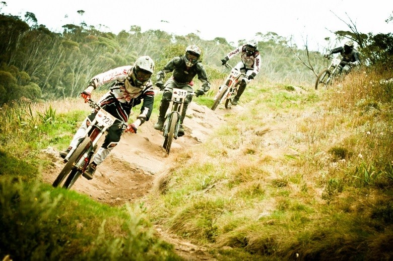 Photo courtesy Rocky Trail/Ales Matousek - Gravity enduro racing is riding with mates with a little competitiveness added for good measure.