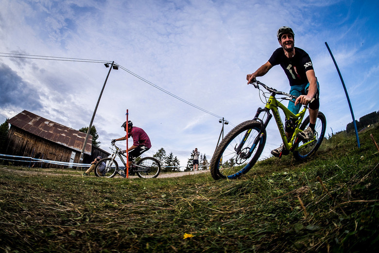 Chris Ball, ex-UCI and now Enduro World Series Head Honcho at Industry World Champs in Hafjell - photo by Sven Martin