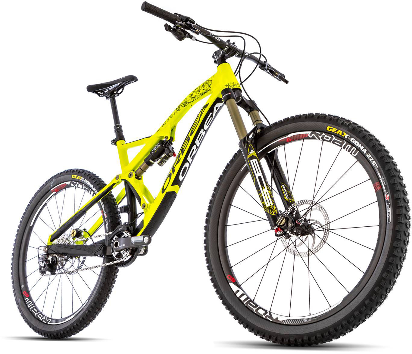 First Look: The All-New Orbea Rallon - Mountain Bikes Feature ...