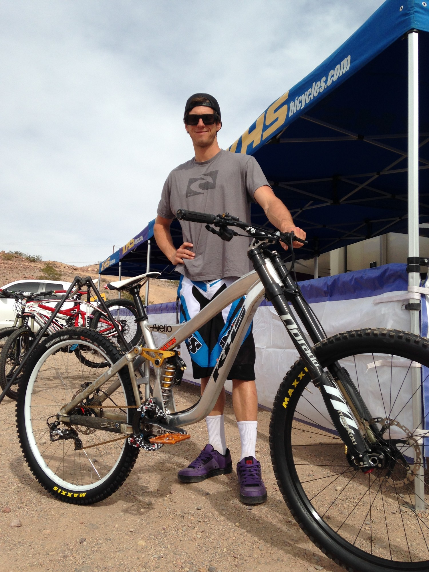 Prototype KHS 29er DH Bike Spotted at Bootleg Canyon - Mountain ...