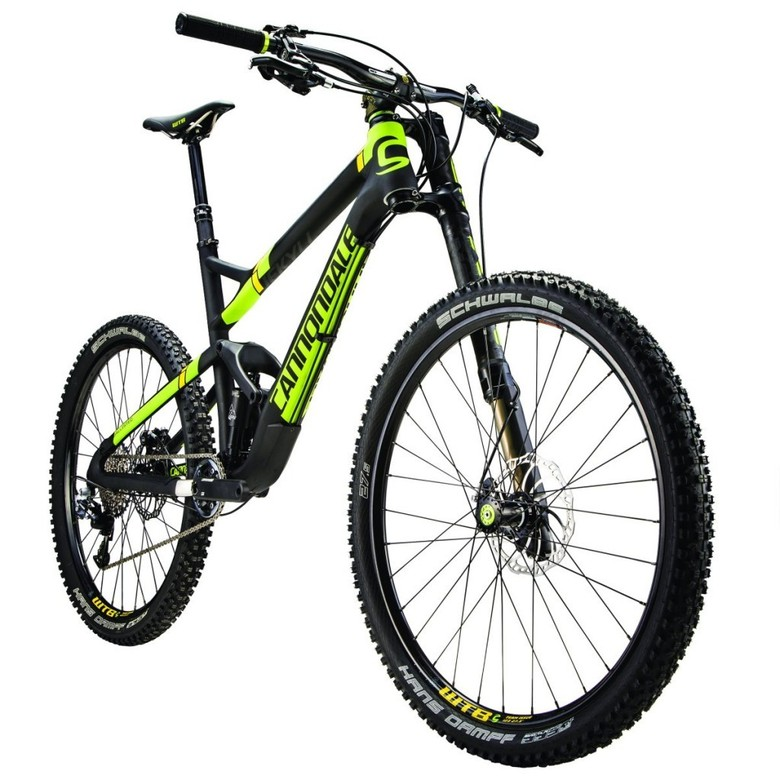 e7a6a4f17d2 New for 2015, the Cannondale Jekyll makes the move to 27.5-inch wheels. The  bike has been increased to 160mm of travel front and rear, features updated  ...