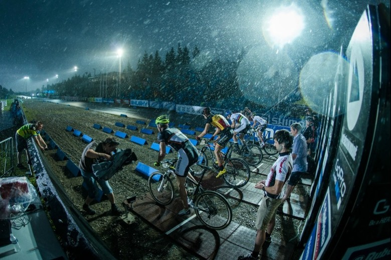 Still wet behind the ears, XCE in Novo Mestre - photo by Marius Maaseward.
