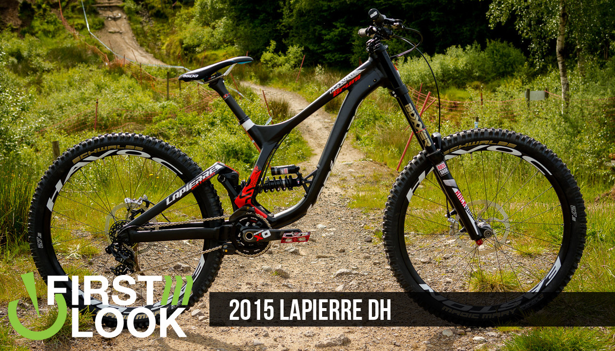 7bd58bae78d We knew Lapierre had been working on a brand new design for their new DH  bike, and the heavily taped-up prototype we spotted a month ago left little  doubt ...
