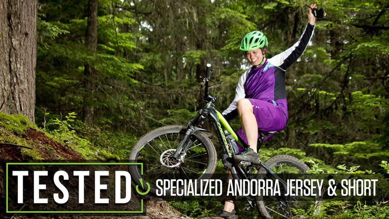 Specialized Women/'s Andorra Comp Short Sleeve Jersey Carbon//Light Teal X-Small