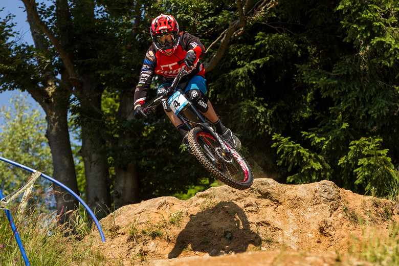 Fastest qualifier Johannes Fischbach - photo by Thomas Dietze.