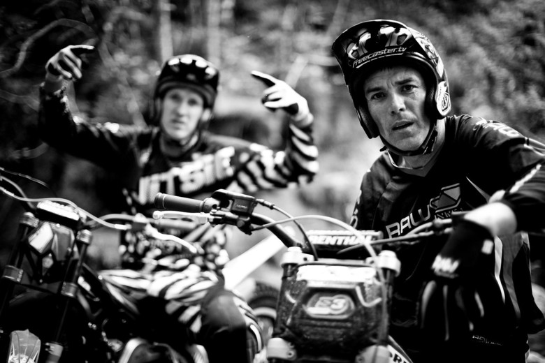 Warner and Peaty, back in 2012 - photo Sven Martin.