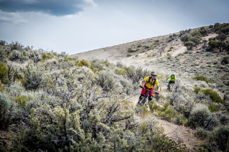 The 2014 season kick off, the Battle Born Enduro, challenged racers with loose sandy single track, rocky technical descents, and punchy climbs (Called To Creation).