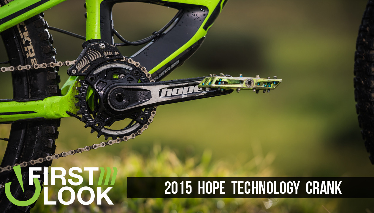 First Look Hope Technology Crank Mountain Bikes Feature Stories E13 Vital Mtb