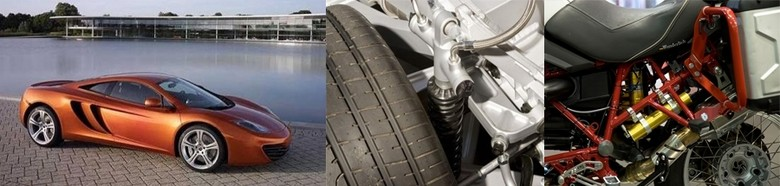 From supercars to superbikes, Öhlins is a leader in electronically controlled suspension - photos courtesy of Öhlins.