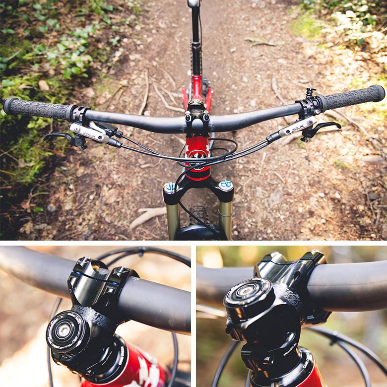 Details about  /EC90 70//90mm Al alloy Cross MTB Mountain Bicycle Handlebar Stems 17° Black