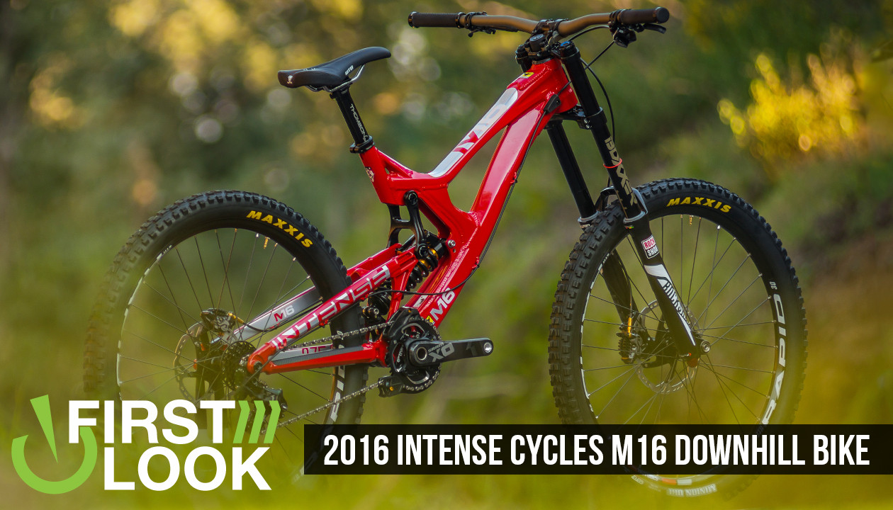 675394782bf First Look: 2016 Intense M16 Downhill Bike - The Next Gen of M - Mountain  Bikes Feature Stories - Vital MTB