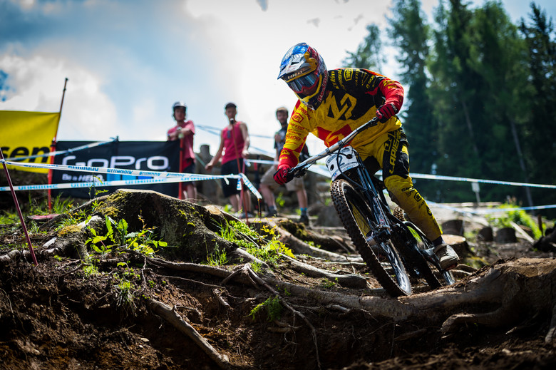When your worst result is 8th, you know you're up there. Bruni in Leogang - photo Johan Hjord