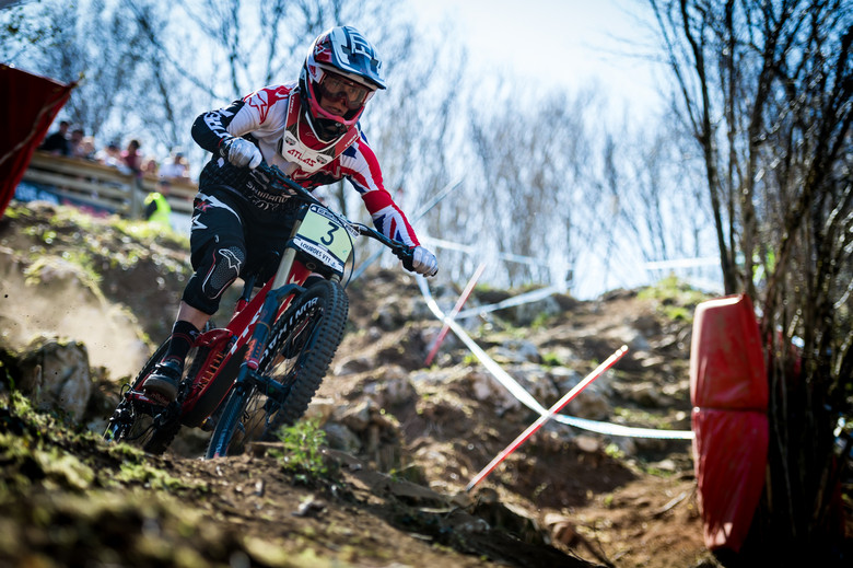 Laurie Greenland in Lourdes earlier this year - photo Johan Hjord