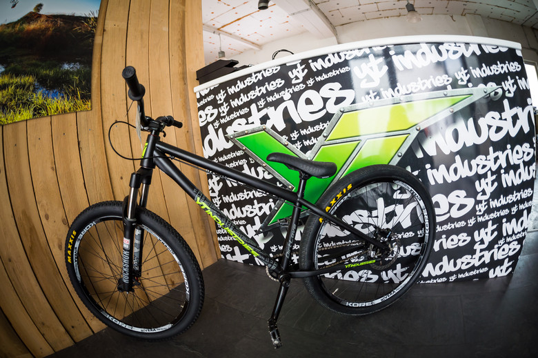 Back to the future. Dirt jumpers started it all for YT, and they are still a core part of the company's identity today.