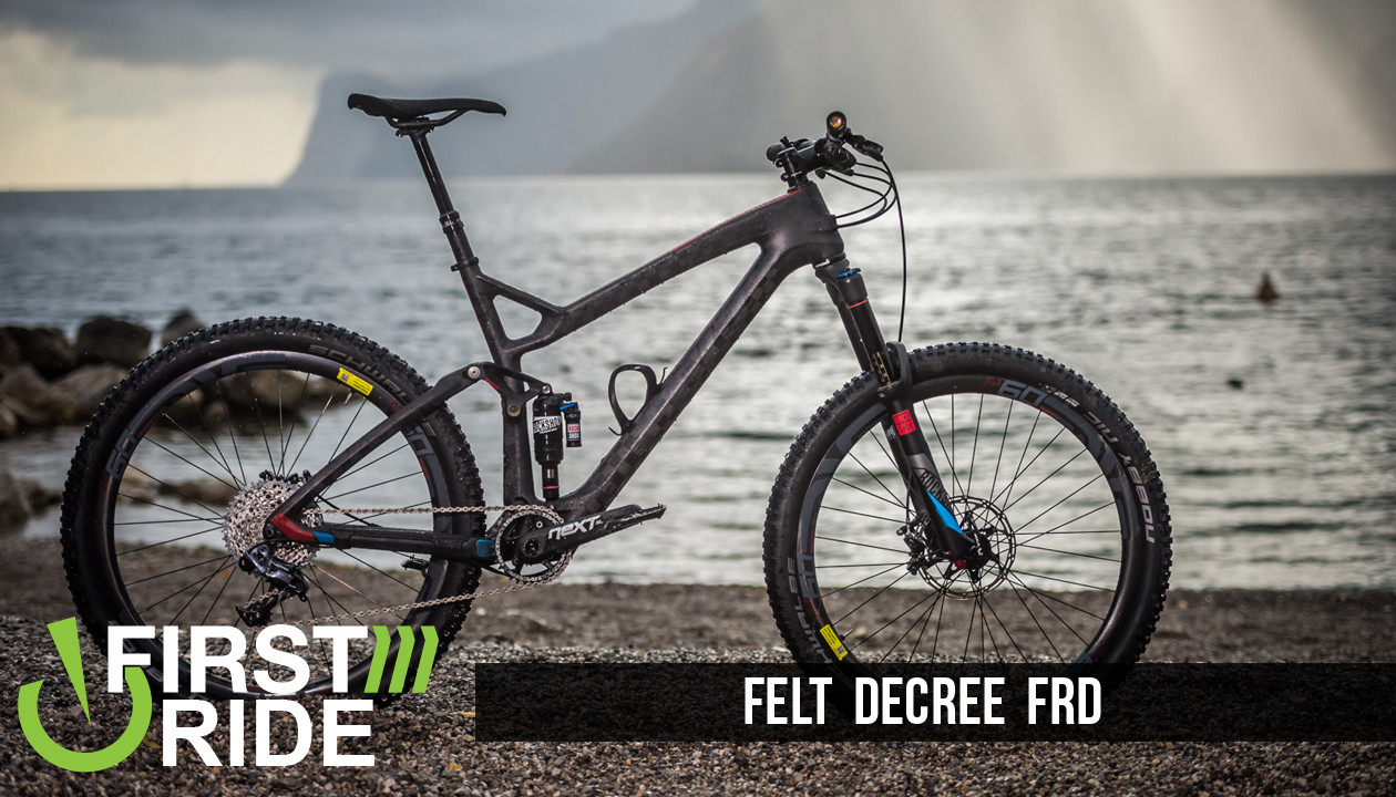 ce4bf1b65a8 First Look/First Ride: Felt Decree FRD - Mountain Bikes Feature ...