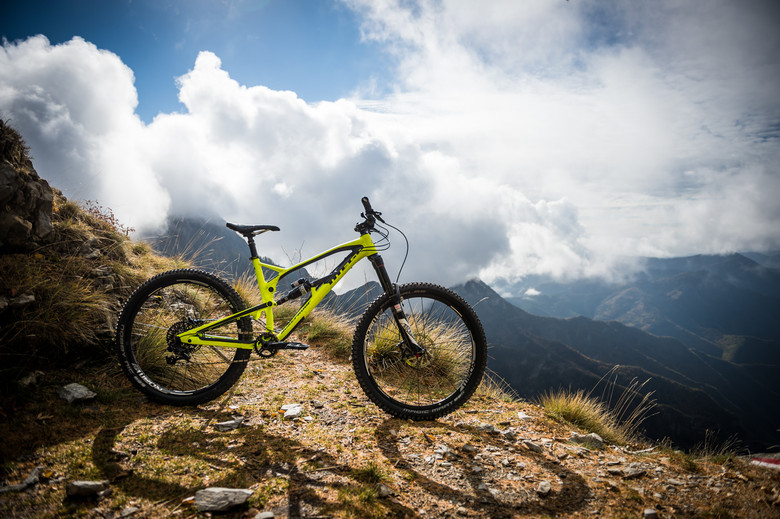 The Mega 27.5 Pro may be from Northern Ireland, but it felt right at home in the Italian Alps.