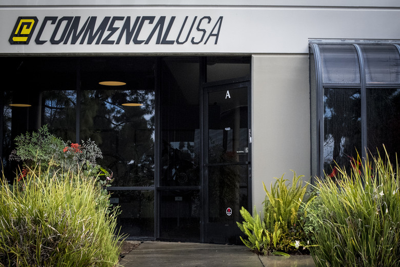 Nestled away in a small business // warehouse district in Carlsbad, CA is the new COMMENCAL USA HQ. They guys were adamant, if you're in the area and want to drop by and demo a bike, just come in and say hi.