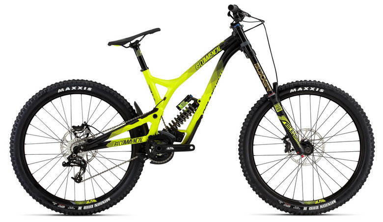 The affordable Commencal Supreme DH V4 priced at only $2999 USD complete.