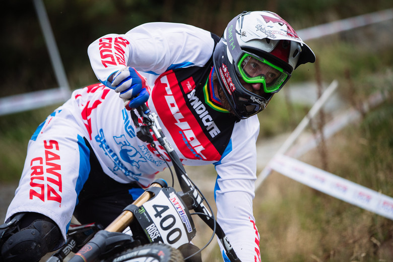Steve Peat at the last round of the 2015 BDS - photo Dan Hearn.