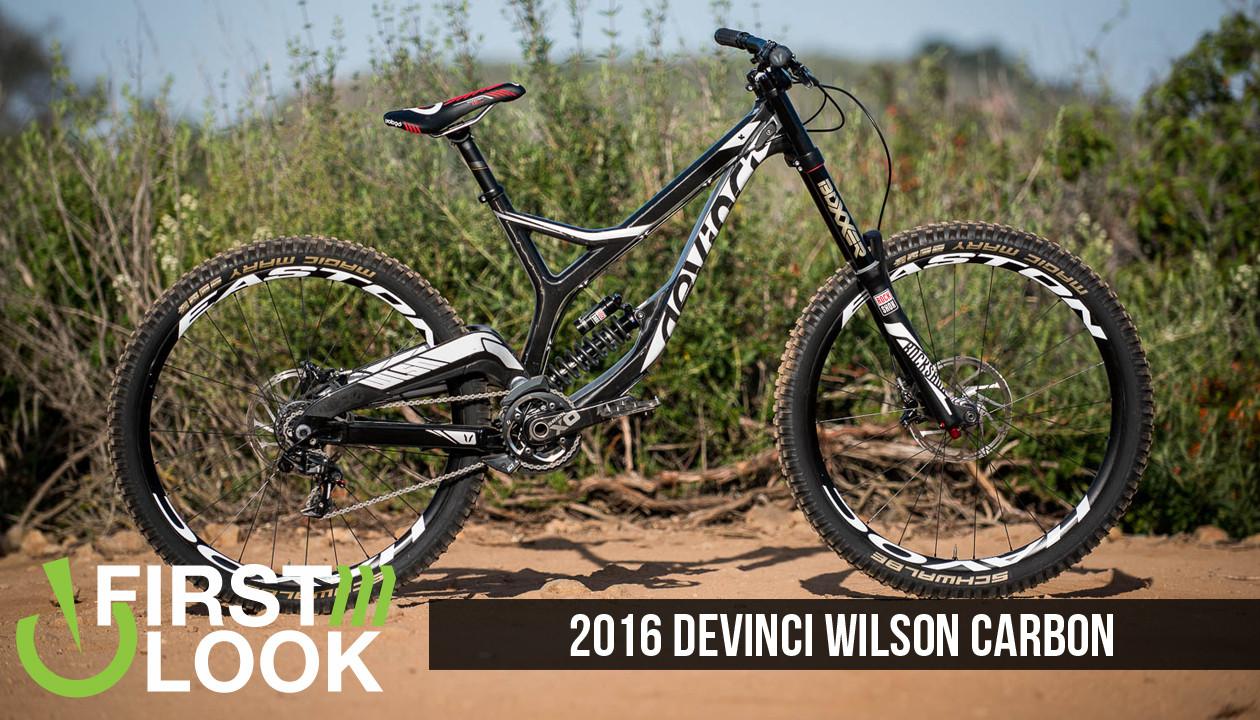 17c9b641e7d First Look / First Ride: 2016 Devinci Wilson Carbon - Mountain Bikes ...