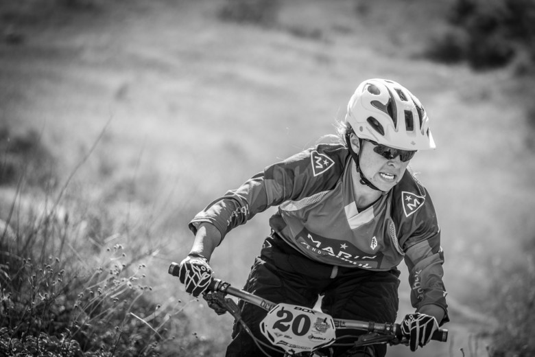 Warm weather and bone-dry trails tested riders, Essence Barton passed with flying colors, she finished first in Pro Women.