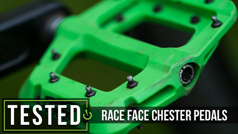 New Race Face Chester Pedal Blue DH Downhill Mtb Mountain Bike Pedal
