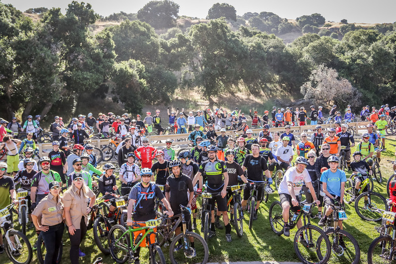 Nearly 350 riders took on the roughly 19‐mile course set in the Salinas hills. Photo: Called to Creation.