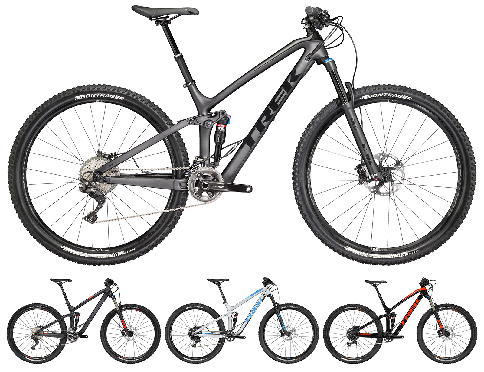 First Look: 2017 Trek Remedy 27 5 and Fuel EX 29 - Mountain Bikes