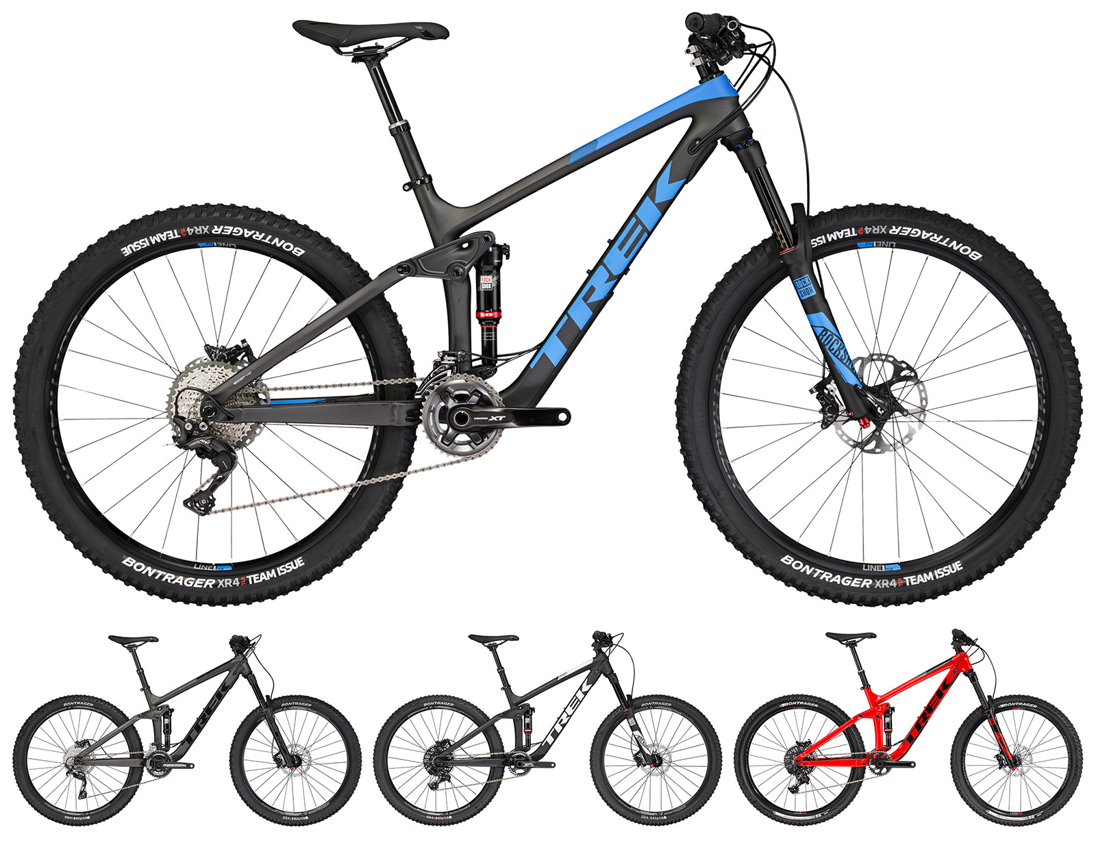 First Look: 2017 Trek Remedy 27.5 and Fuel EX 29 - Mountain Bikes ...